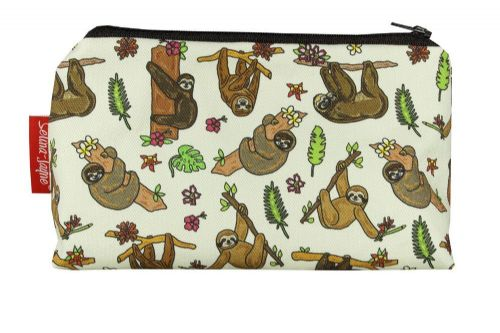 Selina-Jayne Sloth Limited Edition Designer Cosmetic Bag